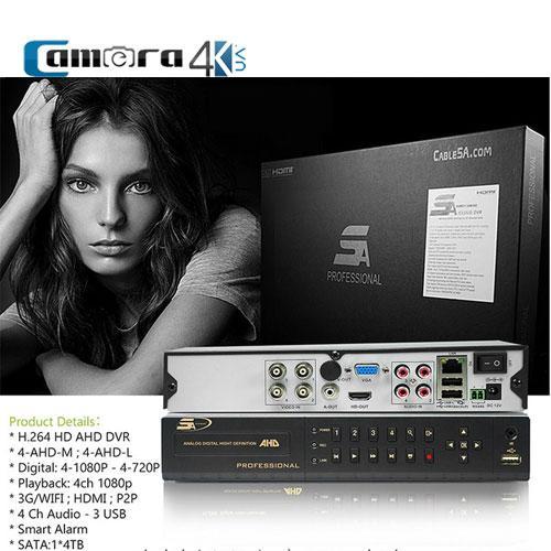 Đầu Ghi 4 Kênh 5A Smart AHD/NVR 04RS-PRO