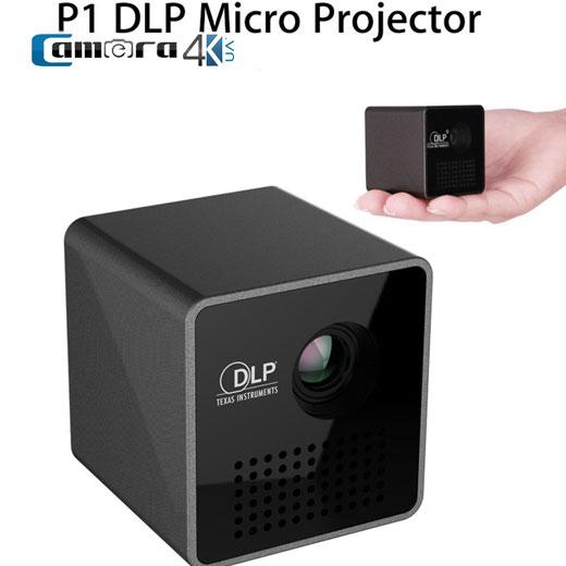 Máy Chiếu Wifi Hismart P1 Plus Mini 1080P Xách Tay Tiện Lợi Cho Du Lịch
