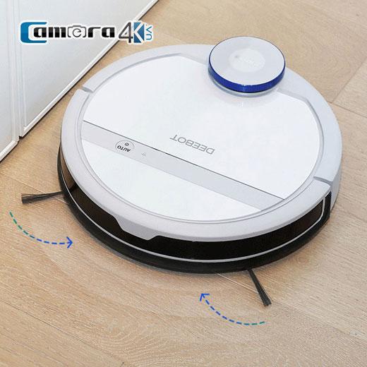 Máy Hút Bụi Robot Thông Minh Ecovacs Deebot DE35. Vẽ Bản Đồ, Điều Khiển Qua Điện Thoại