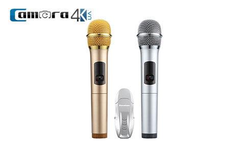 Micro Excelvan K18U Micro Bluetooth Hát Karaoke Không Dây Kết Nối Loa Di Động, Loa Oto