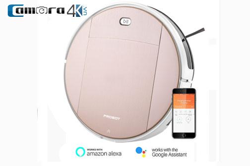 Probot Nelson A5 Wifi, Robot Hút Bụi Lau Nhà Điều Khiển Qua Điện Thoại