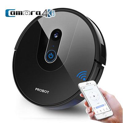 Robot Hút Bụi Lau Nhà Probot Nelson A8, AI PanoView WiFi, Alexa