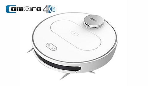 Robot Hút Bụi Lau Nhà Qihoo 360 S6 Wifi, Điều Khiển Qua Điện Thoại