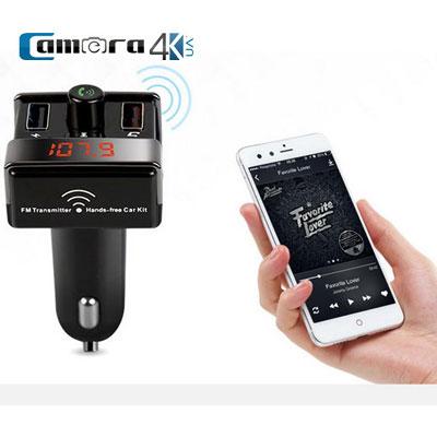Tẩu Nghe Nhạc Oto Thông Qua Sóng Fm A7 Kết Nối Bluetooth Điện Thoại Cho Xe Hơi