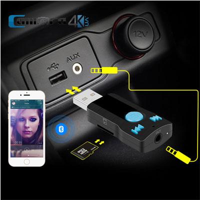 Thiết Bị Kết Nối Bluetooth V3.0 Receiver PRO BC07 Trên Xe Hơi