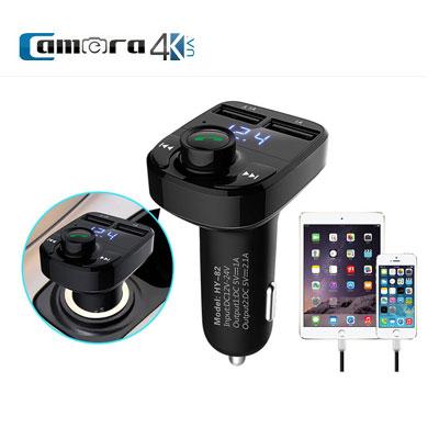 Thiết Bị Nghe Nhạc Bluetooth Cho Xe Hơi Huyndai HY-82 Sử Dụng Sóng FM