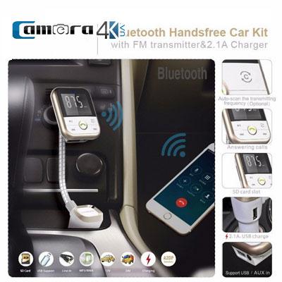 Thiết Bị Nghe Nhạc Oto Bluetooth Cho Xe Hơi BT042 Sử Dụng Sóng FM