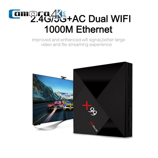 TV Box X99 KODI 18.0 4GB/32GB Android 7.1 Siêu Phẩm Android Smart TV