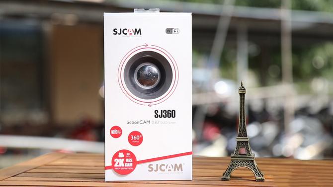 Đánh giá camera hành động SJCAM SJ360